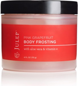 pink grapefruit body frosting