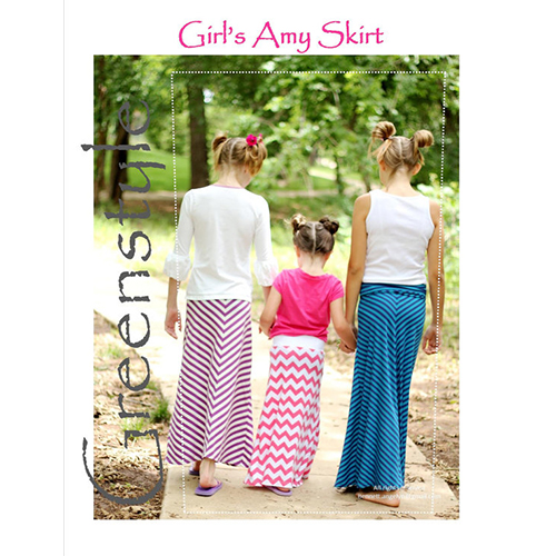 amy skirt girl charlee these are the days sewing fun