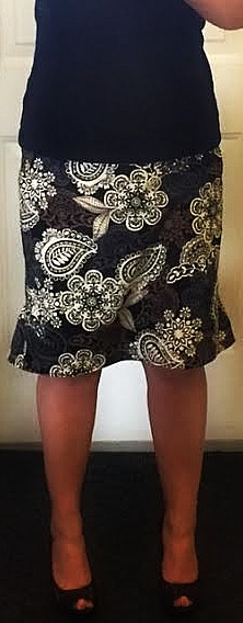 anthropologie inspired ruffled pencil skirt these are the days elizabeth ave sewing fun brother canada brother innovis