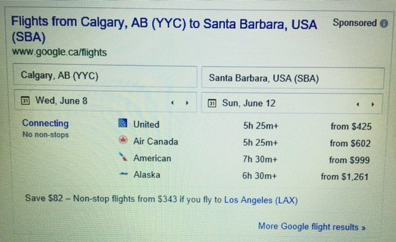 Google Flights these are your days united airlines santa barbara made to holiday discover