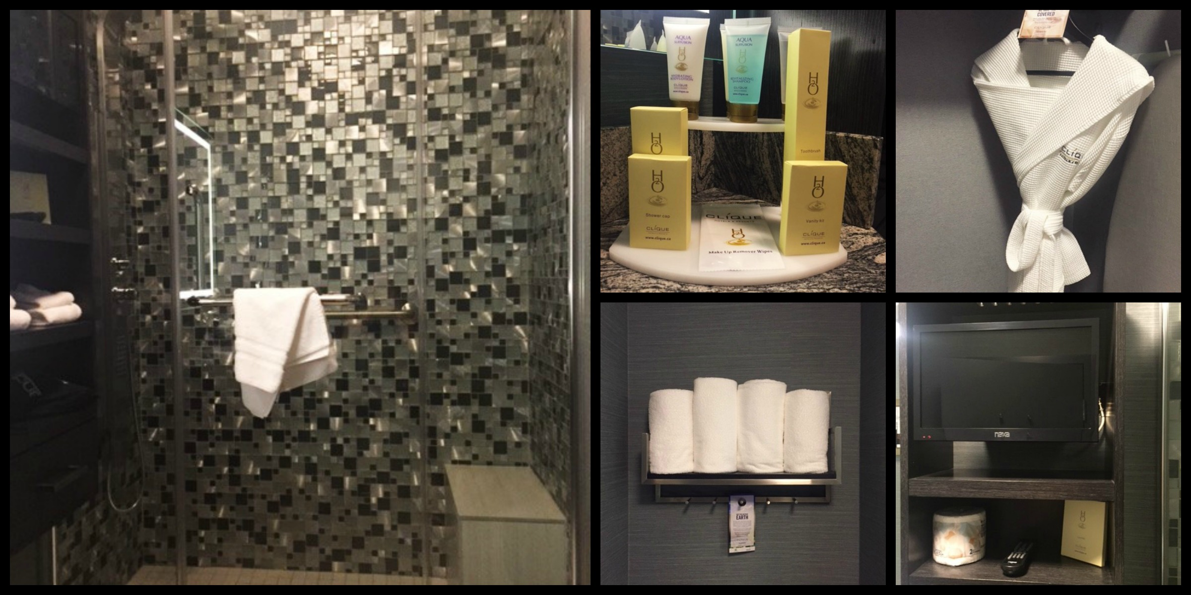 clique hotels and resorts applause hotel yyc calgary airport luxury bathrooms these are your days year of me santa barbara made to holiday