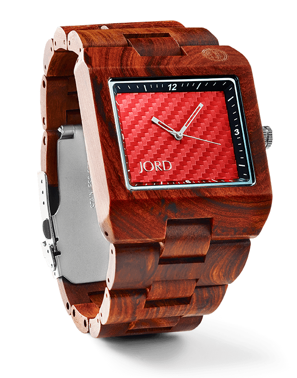delmar series red sandalwood red carbon jord wood watches these are your days giveaway fathers day year of me