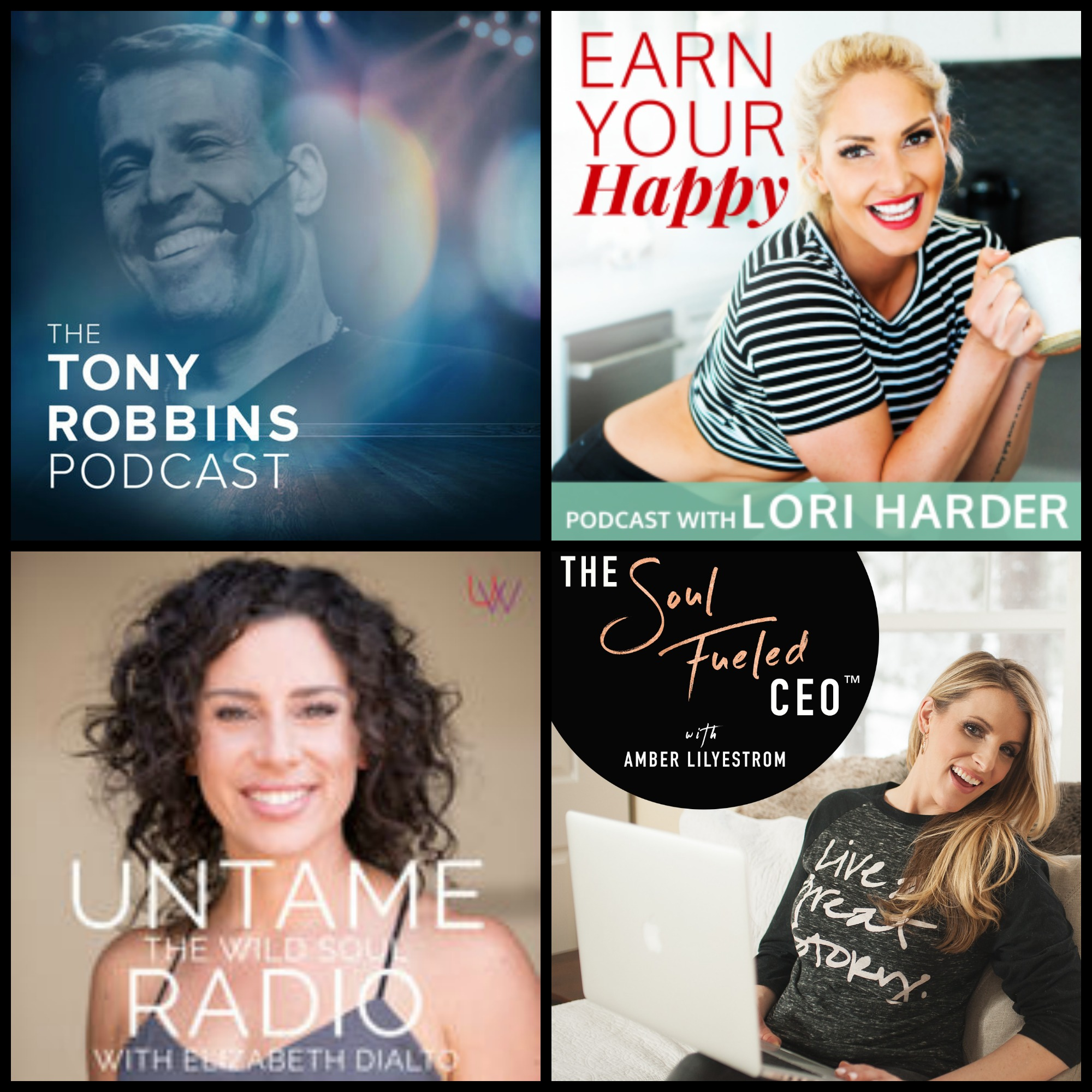 tony-robbins-podcasts-these-are-your-days-earn-your-happy-the-soul-fueled-ceo-untame-the-wild-soul-inspire-motivate-making-memories-5